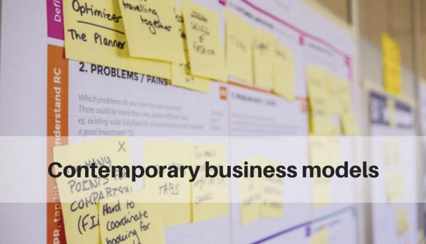 Zabezpieczone: Contemporary business models